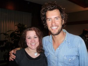 Me with Blake Mycoskie -- completely star struck!
